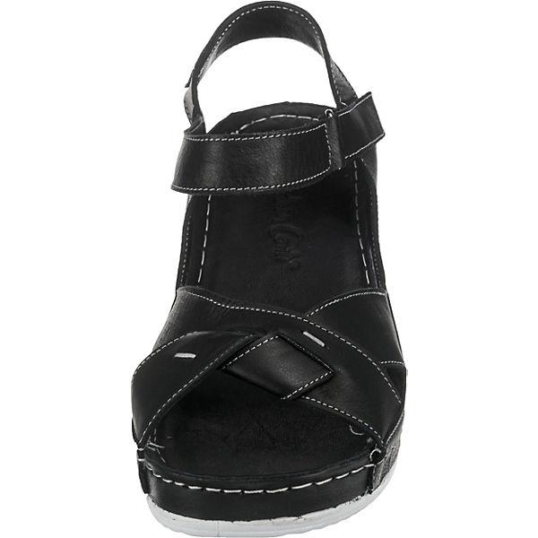 schwarz Sandaletten Sandaletten Andrea Andrea Conti schwarz Andrea Klassische Conti Klassische Conti qxwAC5Ig