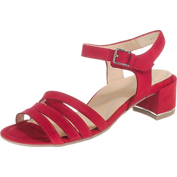 Klassische Highsoft rot Sandaletten Grado ara vWZSY