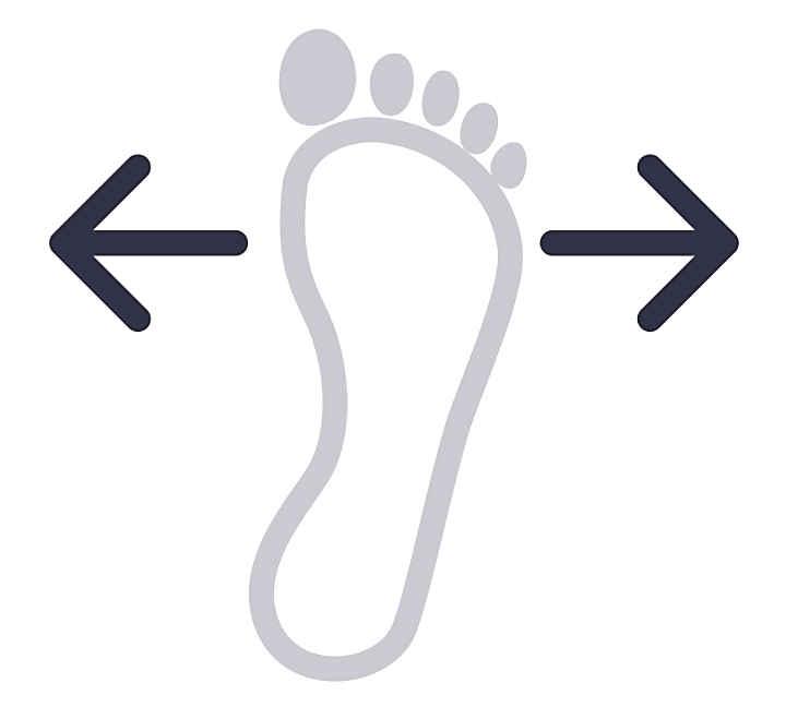 Schuhweiten richtig messen & Größentabelle