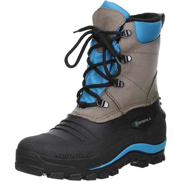 89408de8418c SPIRALE, Damen Winterstiefel Snowboots schwarz braun türkis, schwarz ...