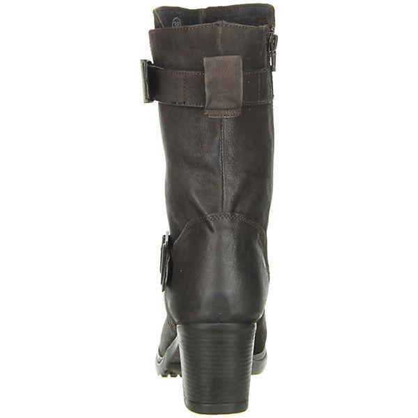 Vista, Damen Stiefel Echtleder braun, braun Gute Qualität beliebte Schuhe