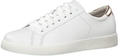 Tamaris, Sneakers Low, weiß