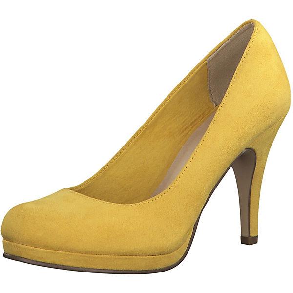 6129c569bae1d Tamaris, Klassische Pumps, gelb