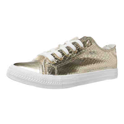 Sneaker Carrie in gold