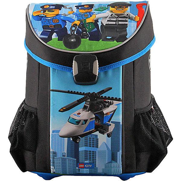 4c4dfd19a6a23 Schulranzenset EASY LEGO CITY Police Chopper