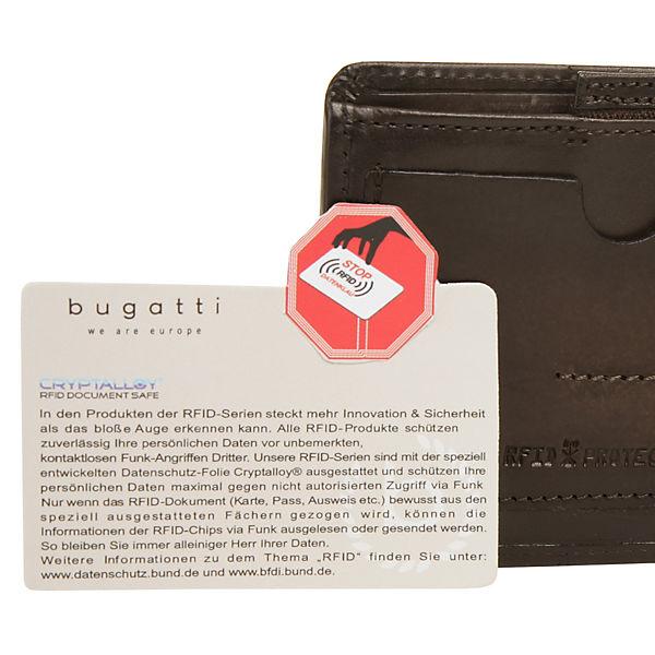 Braun Domus Geldbörse Nobile Bugatti Rfid LjSMpVqUzG