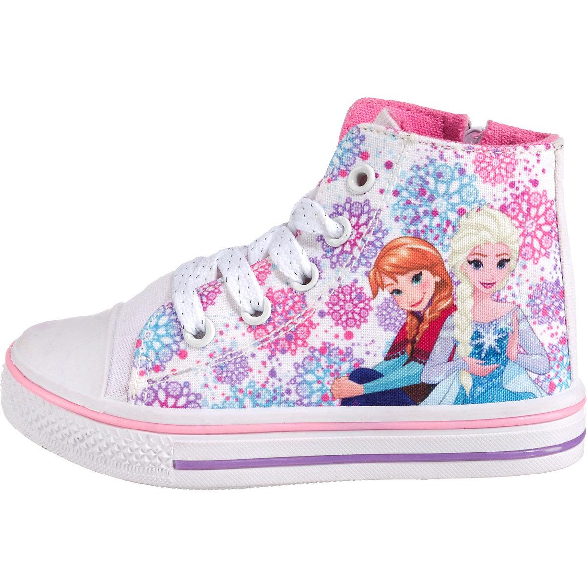 Disney Die Eiskönigin, Eiskönigin Halbschuhe Für Mädchen, Weiß