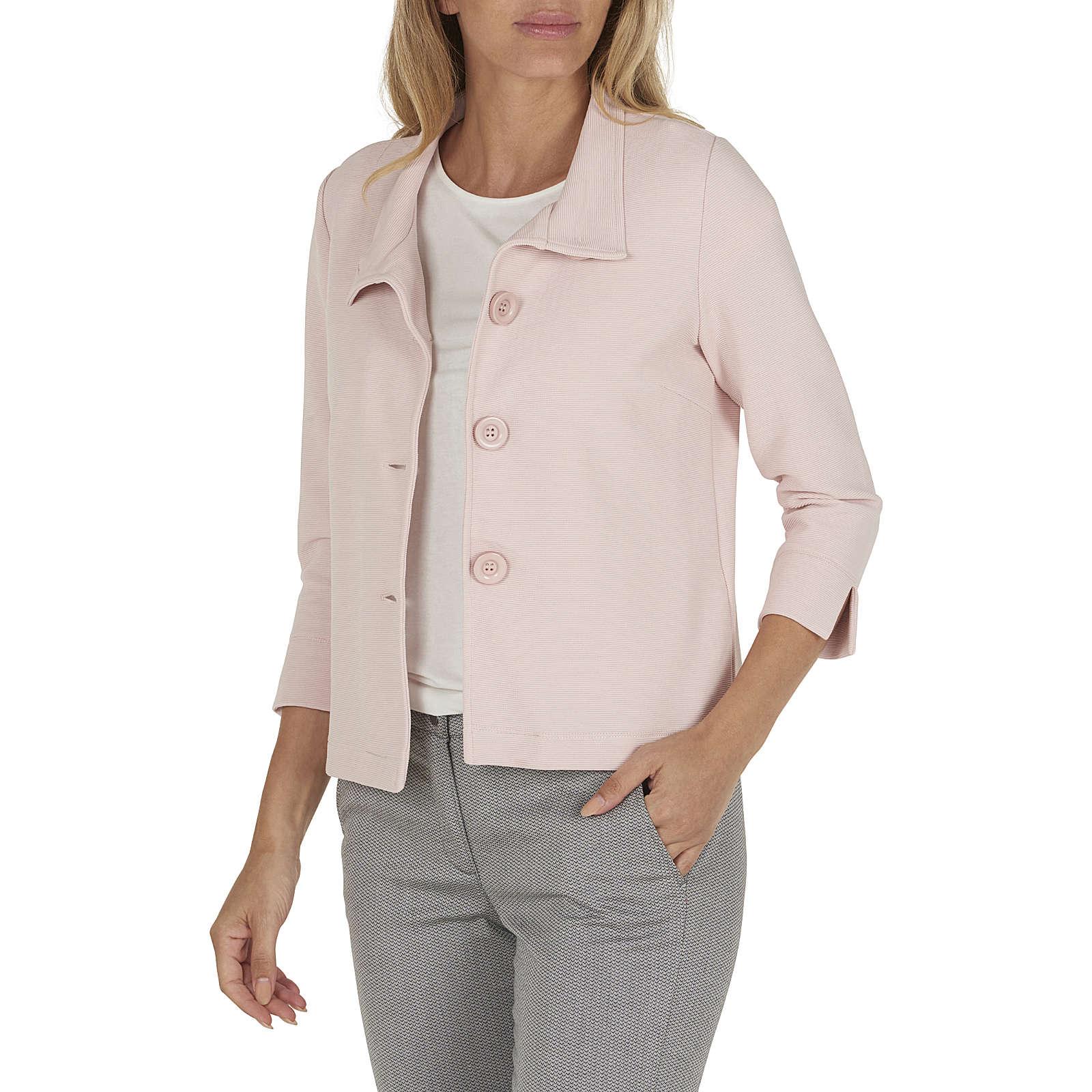Betty Barclay Shirtjacke Sweatblazer rosa Damen Gr. 40