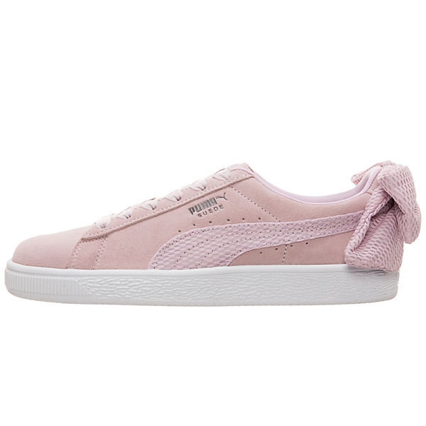 PUMA,  Puma Suede Bow Sneaker Damen, rosa  PUMA, Gute Qualität beliebte Schuhe d9ea97