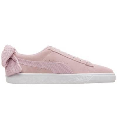 PUMA, Puma Suede Bow Sneaker Damen, rosa | mirapodo