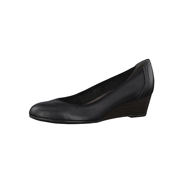 1-22320-21 001 Damen Black Schwarz Keilpumps mit TOUCH-IT Sohle Klassische Pumps