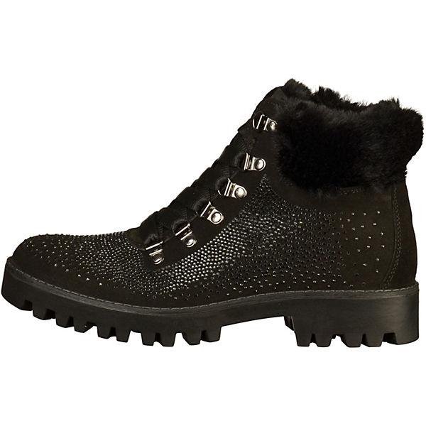 IGI & CO, Stiefelette beliebte Schnürstiefeletten, schwarz  Gute Qualität beliebte Stiefelette Schuhe f7224a