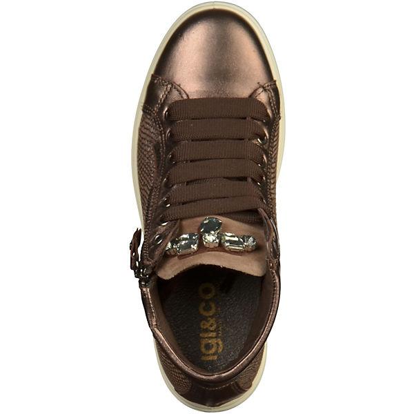 IGI & CO, Sneaker Gute Sneakers High, braun  Gute Sneaker Qualität beliebte Schuhe 5840ac