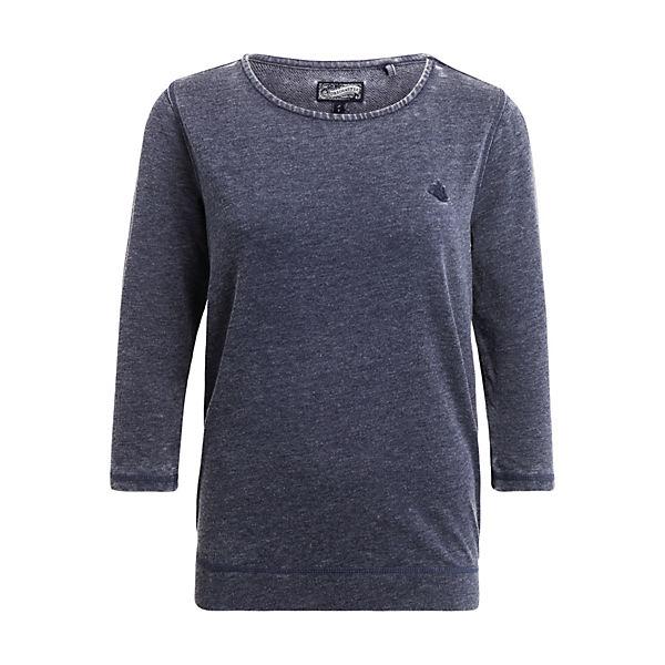 Dreimaster Dreimaster Damen Shirt Blau Shirt Damen Blau HIED9WY2
