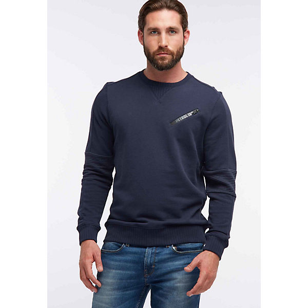 Men Blau Industries Industries Sweatshirt Petrol Sweatshirt Blau Men Petrol Petrol orBxeWCd