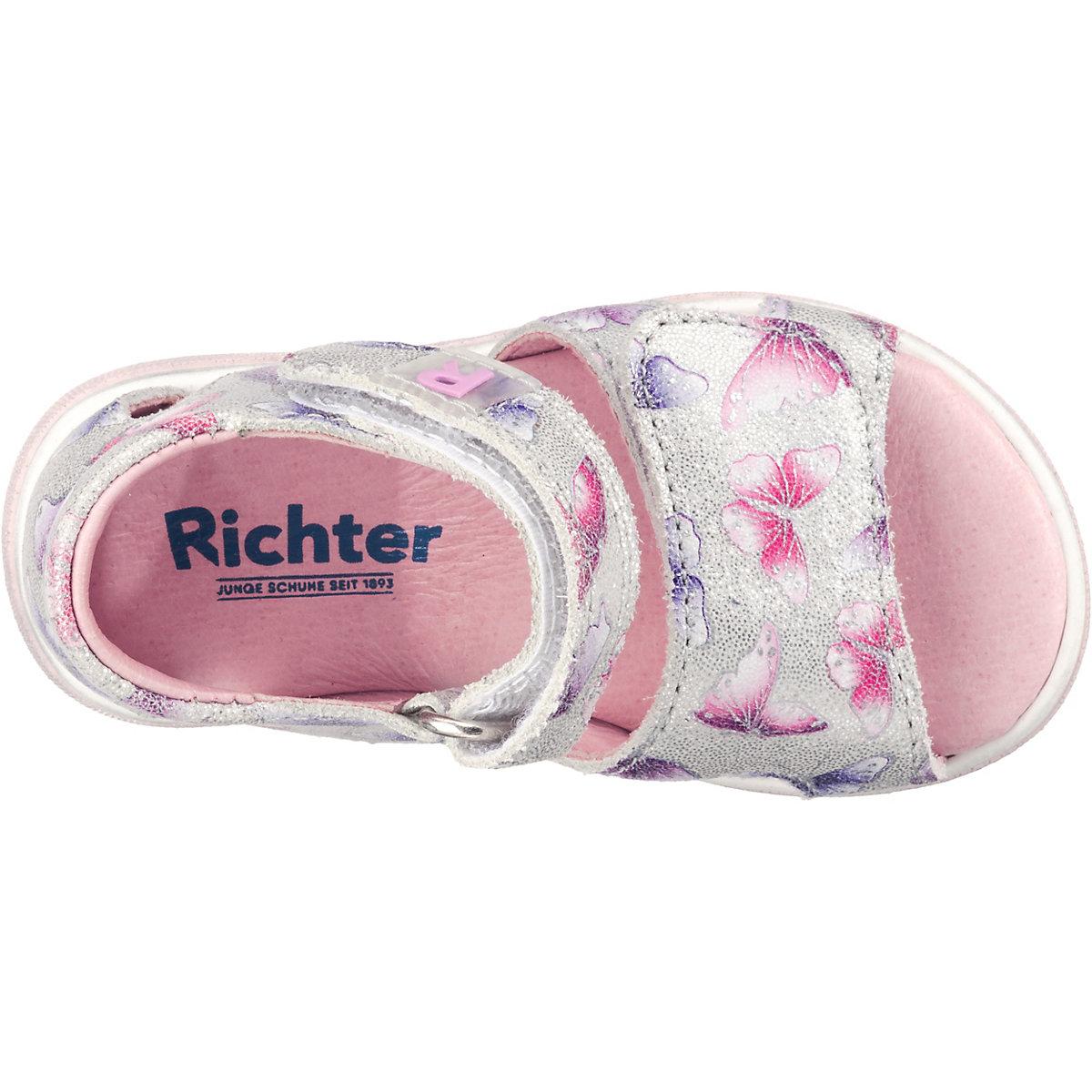 Richter, Baby Sandalen Für Mädchen, Silber