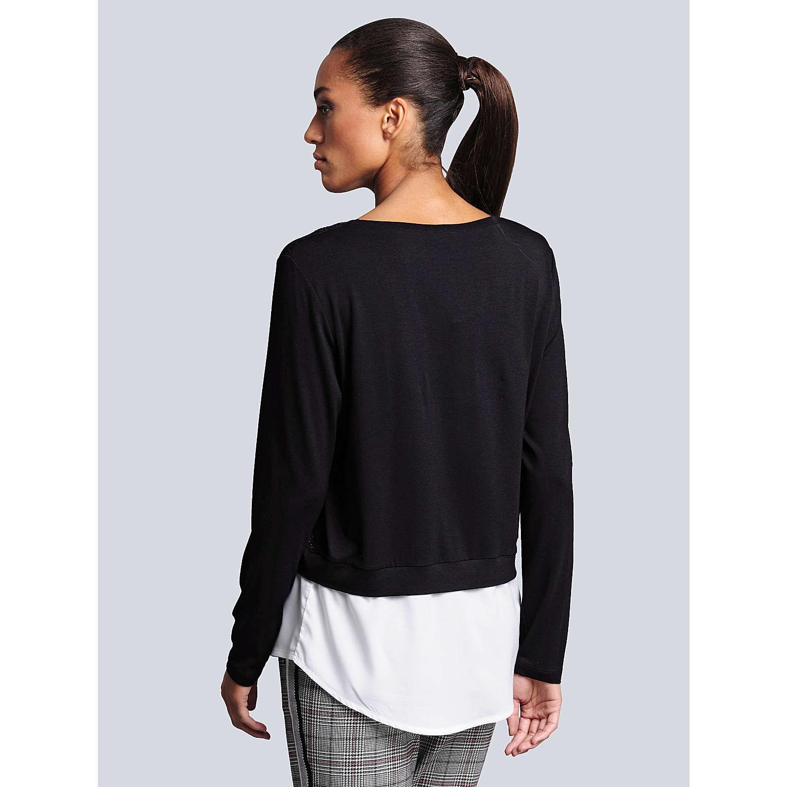 Alba Moda Sweatshirt schwarz Damen Gr. 46