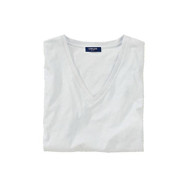 Blue Weiß Conleys T Weiß Blue Conleys Blue T shirt shirt T Conleys 0nwkP8O