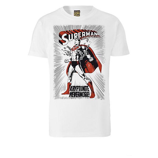 T Logoshirt Weiß Logoshirt® Superman Kryptonite shirts ikuPOlwXZT