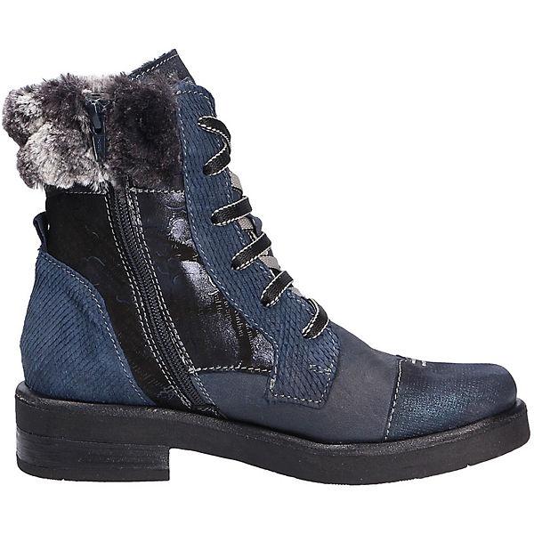 Charme,  Fashion Stiefel/Boot Schnürstiefeletten, blau  Charme, Gute Qualität beliebte Schuhe 7b332e