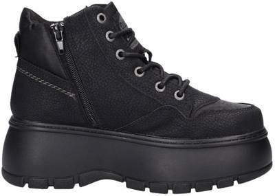 Dockers by Gerli, Plateau Sneakers High, schwarz | mirapodo