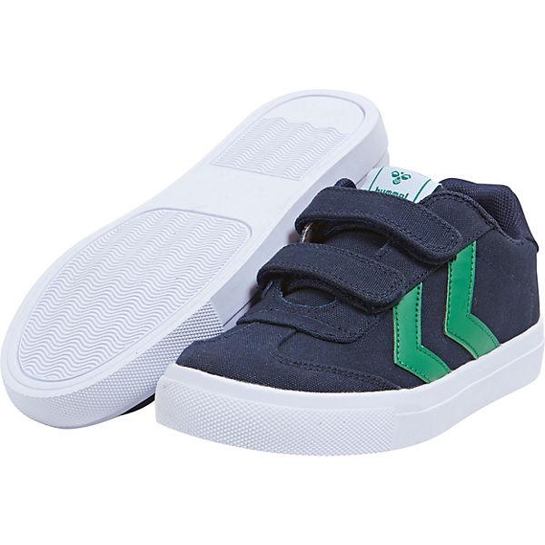 premium selection 3ddf1 8e2e4 hummel, Sneakers Low HOP für Jungen, blau/grün
