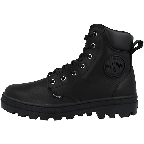 Palladium, Schuhe Pallabosse SC WP Klassische Stiefel, schwarz Gute Qualität beliebte Schuhe