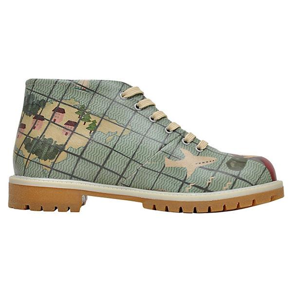 Dogo Shoes, Short Boots Go  go go Schnürschuhe, blau  Go Gute Qualität beliebte Schuhe f9f194