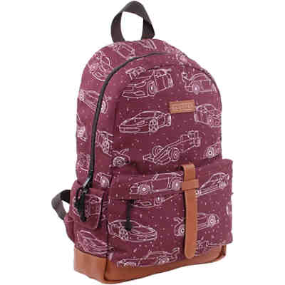 SKOOTER High Speed Freizeitrucksack Red Cars