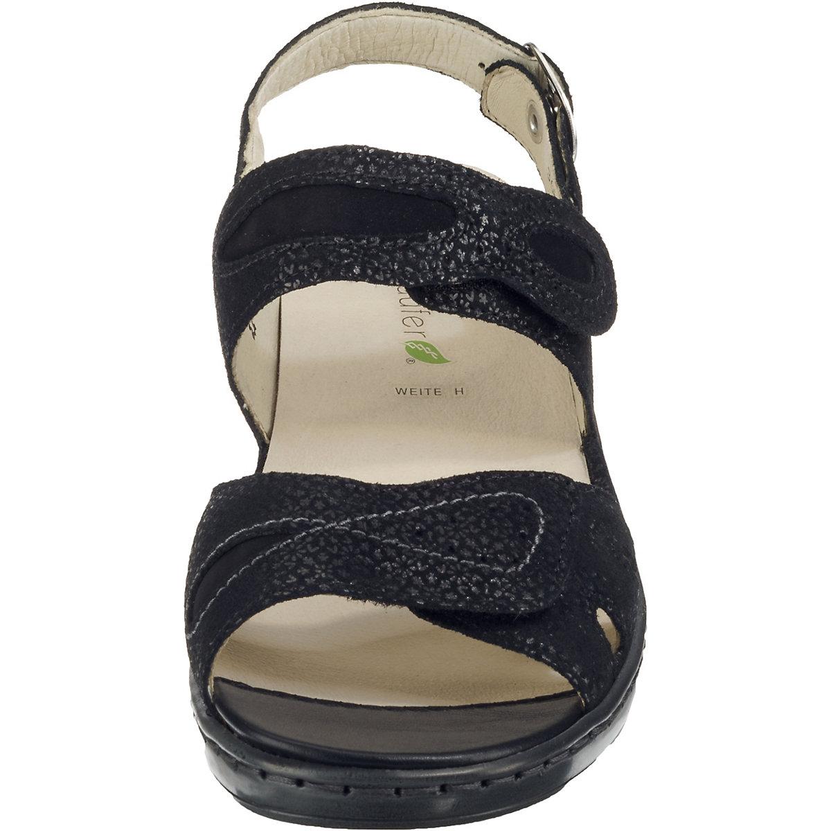 WALDLÄUFER, Hetta Klassische Sandaletten, schwarz