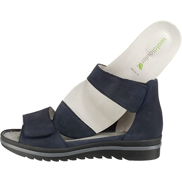 separation shoes 8962f 06388 WALDLÄUFER, Hakura Komfort-Sandalen, dunkelblau
