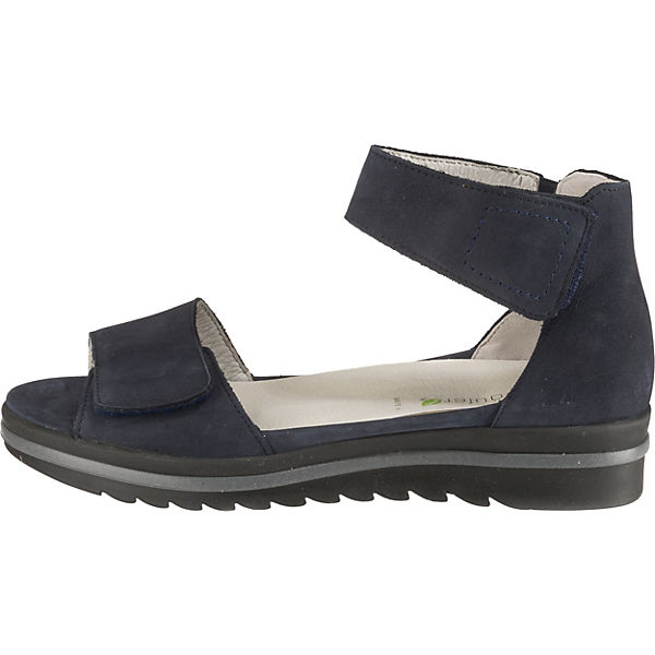 Großer Rabatt WALDLÄUFER Hakura Komfort-Sandalen blau sl56kjfjJKJ25 Verkauf