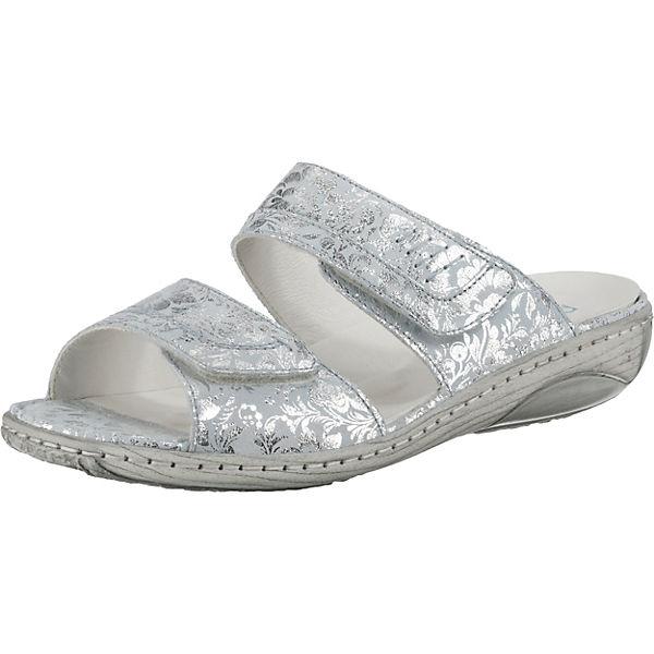 pantoletten Silber pantoletten Waldläufer Komfort Waldläufer Waldläufer Garda Garda Silber Komfort Garda beD9YHIWE2