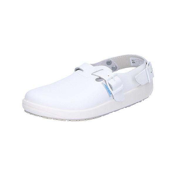 Weiß Pantolette 9100 Berufsschuhe Arbeitsclogs Abeba ZOkuTiPX