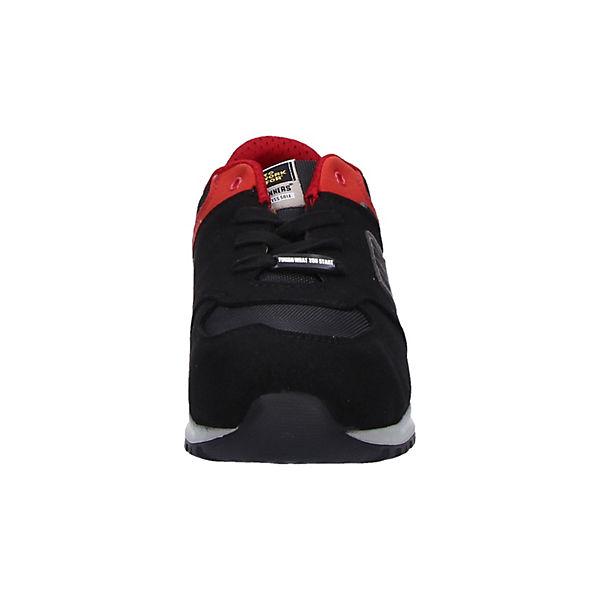 TOWORKFOR, Sicherheitsschuhe Graffiti, schwarz-kombi    Gute Qualität beliebte Schuhe 423d58