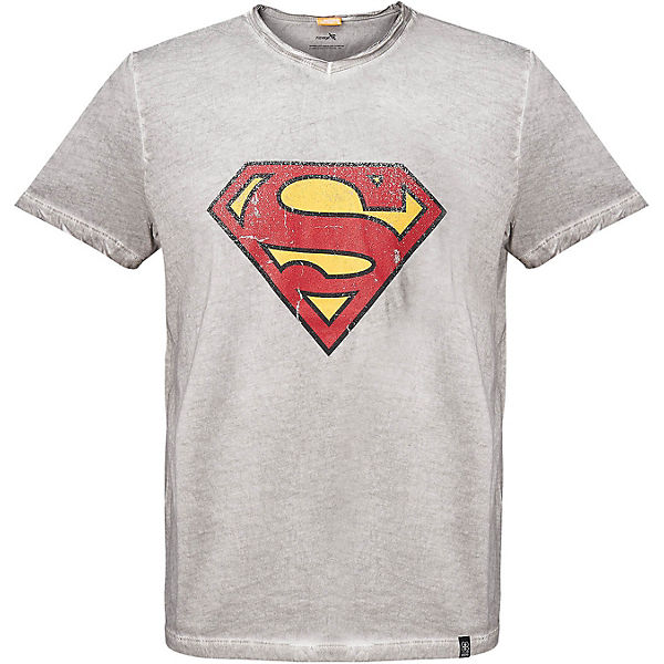 Superman T-Shirt grau