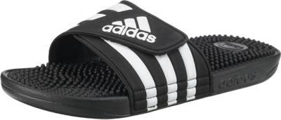 adidas Performance, Adissage Badelatschen, schwarz