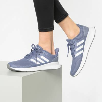 adidas Performance, RUNFALCON Laufschuhe, blau | mirapodo