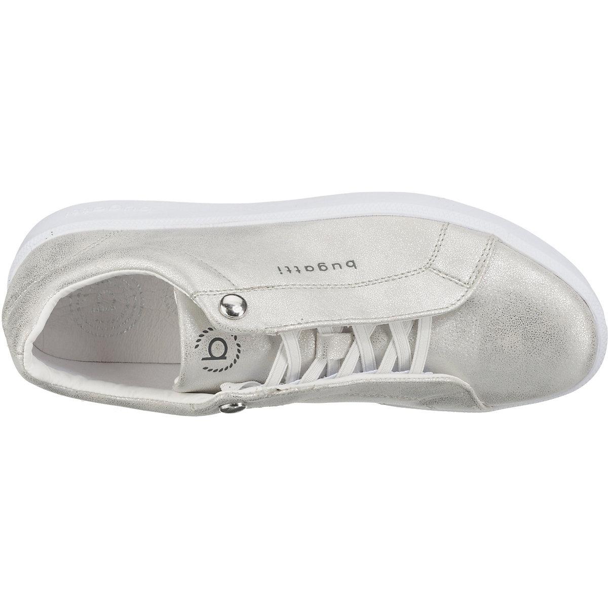 Bugatti, Sneakers Low, Silber
