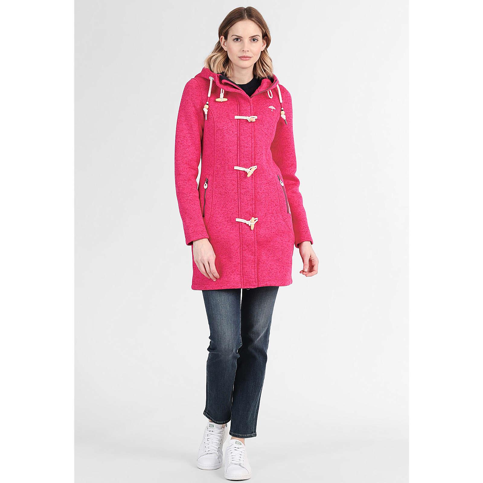 SCHMUDDELWEDDA Damen Dufflecoat pink Damen Gr. 36