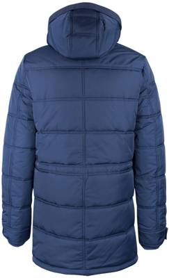 Dry Laundry Jacke mit abnehmbaren Ärmeln blau