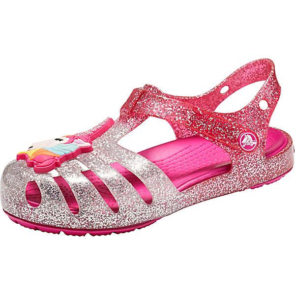 cheap for discount bdf0b 87c9a crocs, Sandalen Isabella Charm für Mädchen, pink