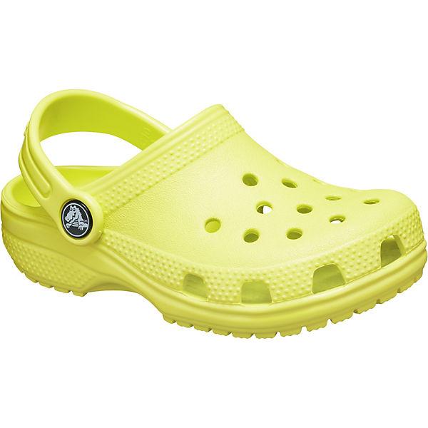 new concept 8fec9 f167b crocs, Kinder Clogs Classic, grün