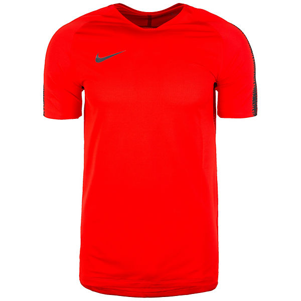 Rot Performance Squad Herren Nike Breathe Trainingsshirt HED29IYeW