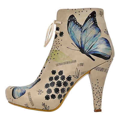 Bootie Use your wings Schnürstiefeletten