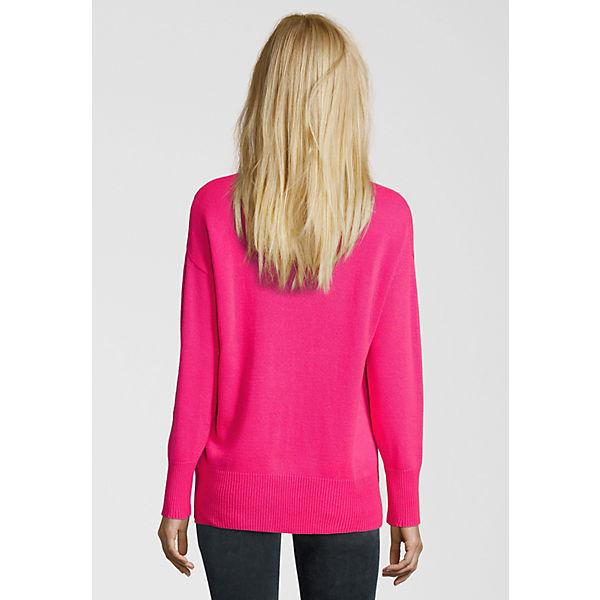 brand new 4a8a2 4e651 Miss Goodlife, Strickpullover BASIC NECKLINER Pullover, pink ...