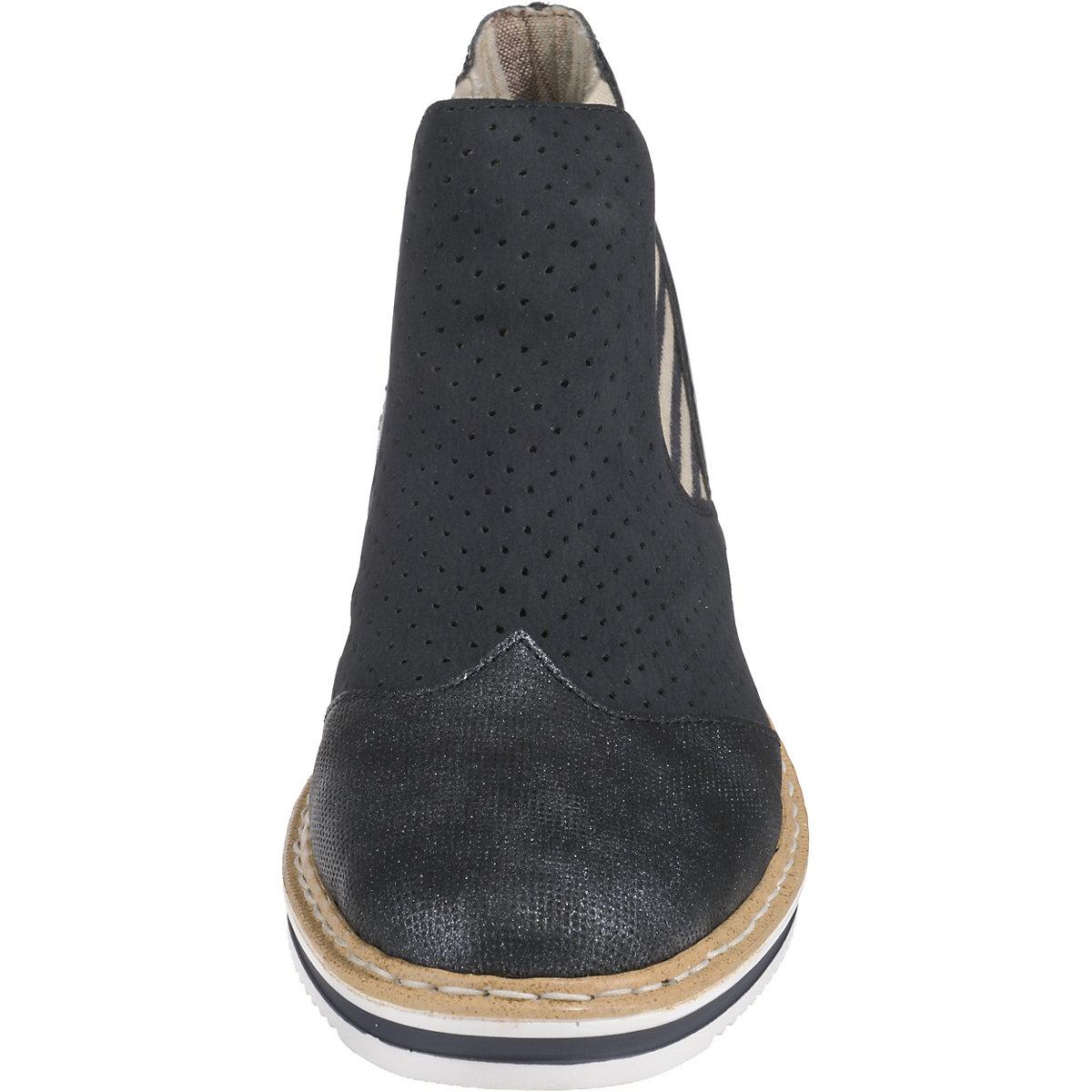 rieker Chelsea Boots dunkelblau