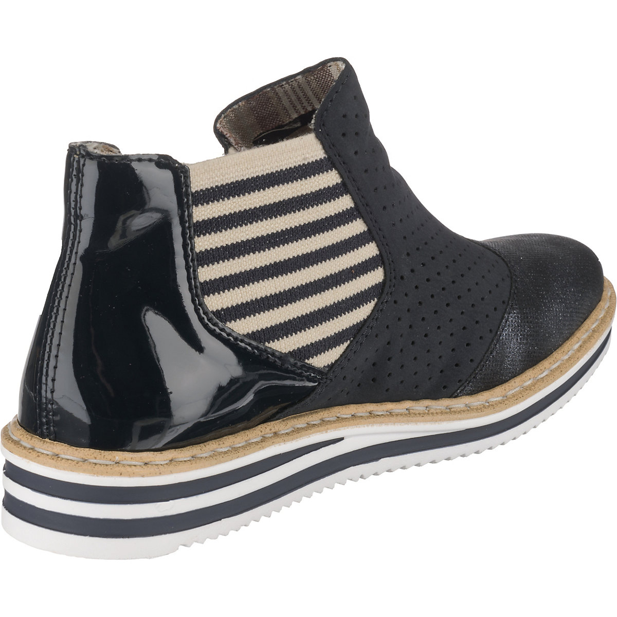 Rieker, Chelsea Boots, Dunkelblau