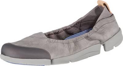 Clarks, Tri Adapt Komfort Slipper, grau
