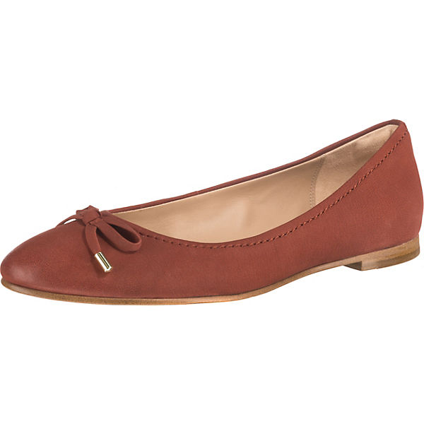 no sale tax buying new best sell Clarks, Grace Lily Klassische Ballerinas, rot/braun